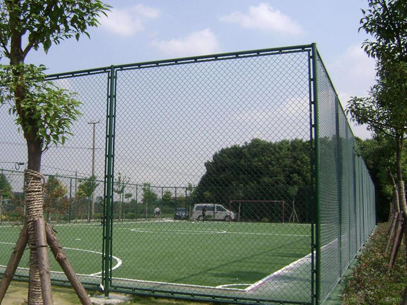 足球场围网工程案例