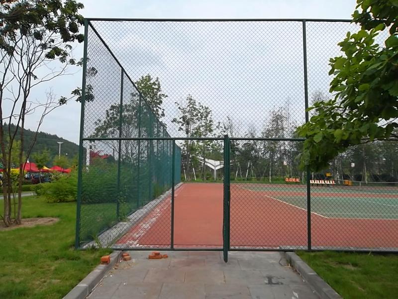 篮球场围网工程案例